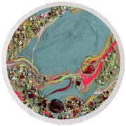 Quest For The Maharaja's Ruby Round Beach Towel