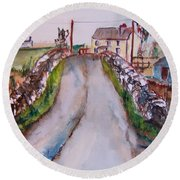 Quiet Man Bridge Round Beach Towel