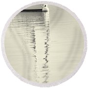 Quiet Water Round Beach Towel