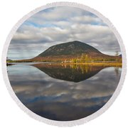 Quiet Waters 1507 Round Beach Towel