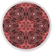 Quilted... Round Beach Towel