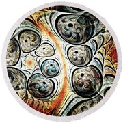 Quorum Sense Round Beach Towel