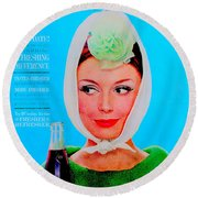 R C Cola Round Beach Towel