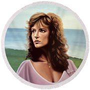 Rachel Ward Round Beach Towel