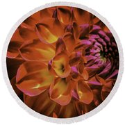 Radial Edge Round Beach Towel
