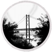 Rambling Through The Undergrowth Round Beach Towel