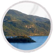 Rattlesnake Point Round Beach Towel