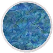 Raymonds Present Round Beach Towel