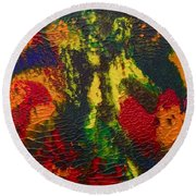 Reaching For The Stars Round Beach Towel