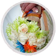 Ready To Wed Round Beach Towel