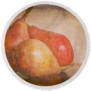 Readying For Autumn Round Beach Towel