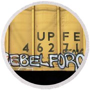 Rebel Force Round Beach Towel