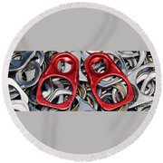 Recycled Love Round Beach Towel