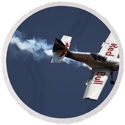 Red Bull - Aerobatic Flight Round Beach Towel