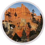 Red Canyon - Scenic Byway 12 Round Beach Towel