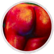 Red-hot Summer Bum For Rockers Round Beach Towel