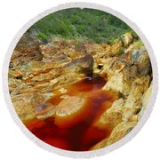 Red River Huelva Round Beach Towel