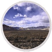 Red Rock Canyon Nevada Round Beach Towel
