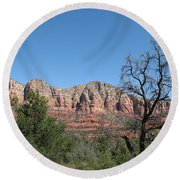 Red Rock Country - Sedonna Round Beach Towel