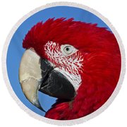 Red White And Blue... Round Beach Towel
