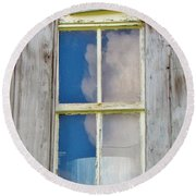 Reflection Of The Sky Round Beach Towel