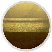 Reflections 95 Round Beach Towel