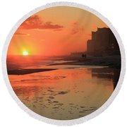 Reflections At Perdido Key Round Beach Towel