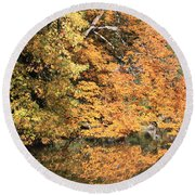 Reflections II Round Beach Towel