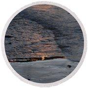 Reflections IIi  Round Beach Towel