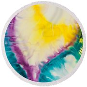 Reflections Of The Universe No. 2234 Round Beach Towel