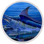 Reflections Off0058 Round Beach Towel