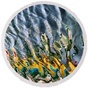 Reflections Round Beach Towel