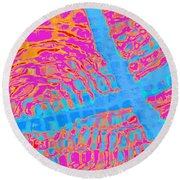 Reflections Three Round Beach Towel
