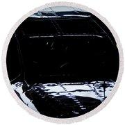 Reflective Cessna Round Beach Towel