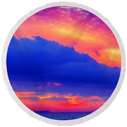 Refractive Round Beach Towel