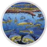 Refuge Off00110 Round Beach Towel