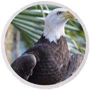 Regal Eagle Round Beach Towel