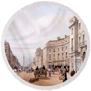 Regent Street, Looking Towards The Duke Round Beach Towel