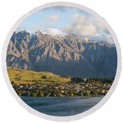 Remarkables Round Beach Towel