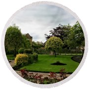 Remembrance Park - In Bakewell Town Peak District - England Round Beach Towel