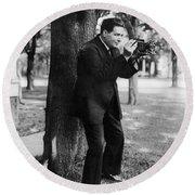 Renato Zanelli (1892-1935) Round Beach Towel