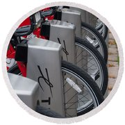 Rental Bikes Round Beach Towel