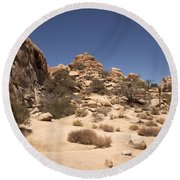 Repeating Yourself Round Beach Towel