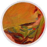 Repose Round Beach Towel