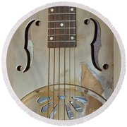 Resonator Detail Round Beach Towel