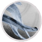 Resting On A Feather Round Beach Towel