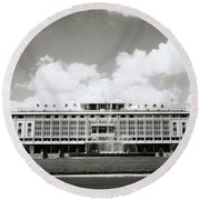 Reunification Palace Saigon Round Beach Towel