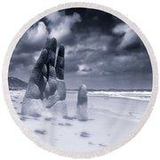 Revelation Round Beach Towel