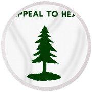 Revolutionary Flag, 1775 Round Beach Towel