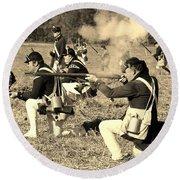 Revolutionary War Battle Round Beach Towel
